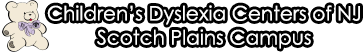 Children's Dyslexia Centers of NJ, Scotch Plains Campus